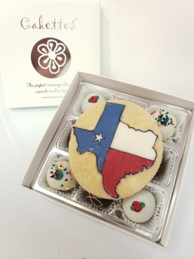 Completely edible, all Texas!